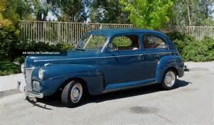 1941 Ford Sedan 1941 Ford Tudor Sedan Classic