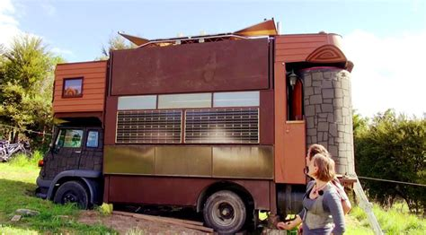 truck house this off the grid truck house transforms into a spectacular fantasy castle inhabitat