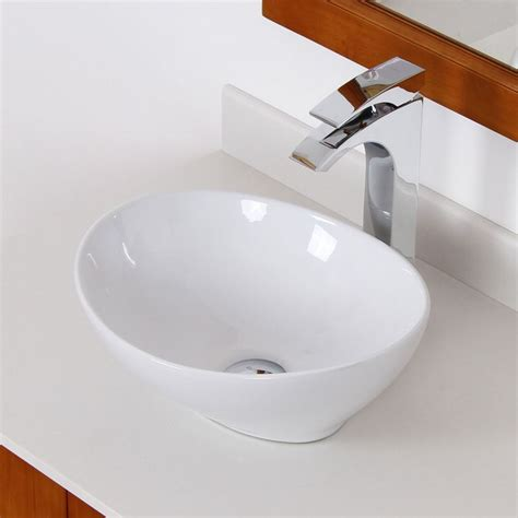 unique bathroom sink elite 8089 high temperature grade a ceramic bathroom sink with unique oval desig