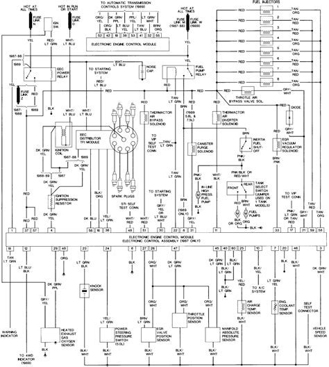 1988 Ford F 450 460 Gas Engine Wiring Diagram Pump