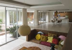 the well appointed catwalk sunken living rooms 224 la mad men