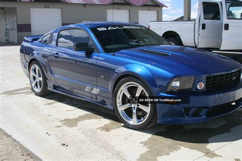 2007 ford mustang specs 2007 ford mustang saleen s281 specs
