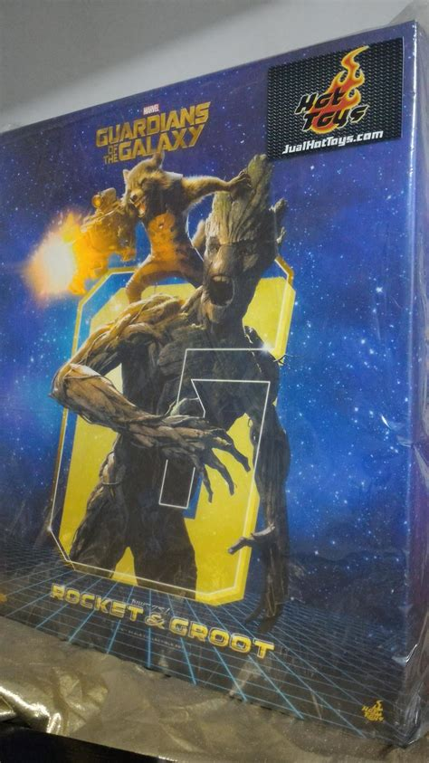 Jual Offwhite Galaxy 1 1 Like Authentic jualhottoys toys guardians of the galaxy rocket