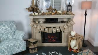 Shabby Chic Mantel Decor by Fall In Love With These Autumn Mantel Decorating Ideas