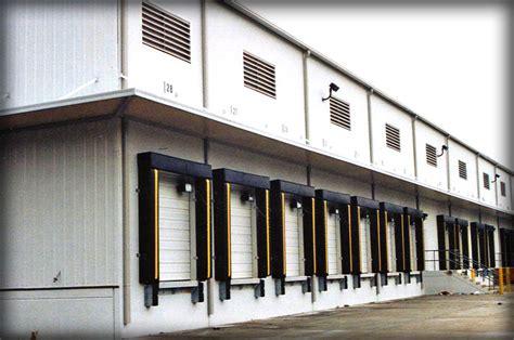 loading dock awnings dac architectural loading dock canopies