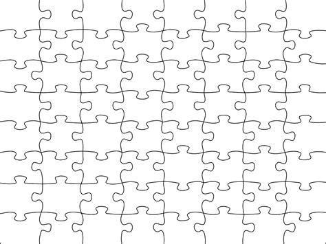 Puzzle A4 120 Piese Jigsaw Puzzle Template Generator