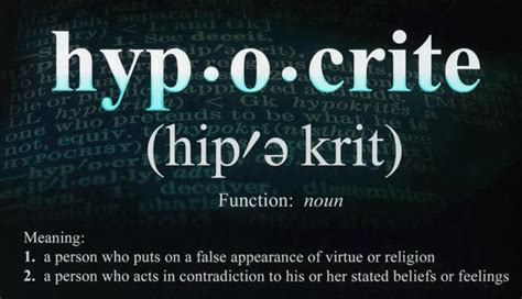 Is A Hypocrite by 3 Types Of Hypocrites Borrowed Light