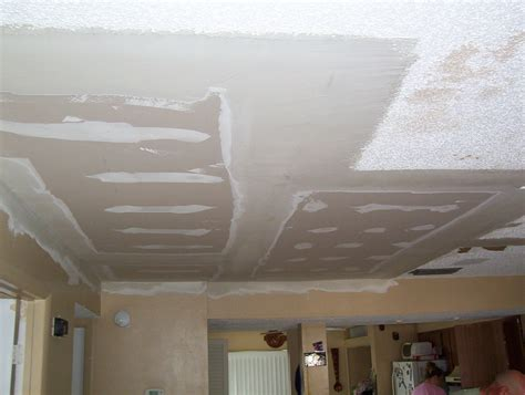 Falling Drywall Ceiling Repair After Photo Peck Drywall Ceiling