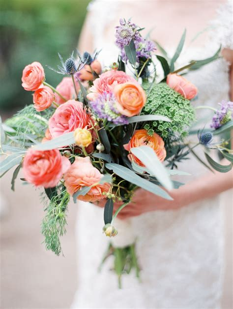 a bright rustic wedding bouquet by cactus flower florists our bridal bouquets