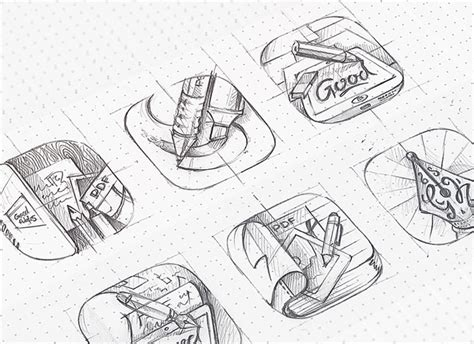 logo development sketches 30 outstanding progress illustrations for icon logo designs