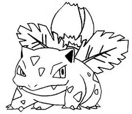 coloriages pokemon herbizarre dessins pokemon