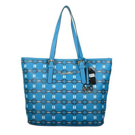 Beautiful Bags To Check Out by Michael Kors Miranda Large Totes Blue Lagoon Mk Clearance