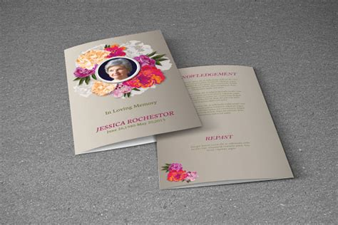 funeral brochure template 18 download documents in