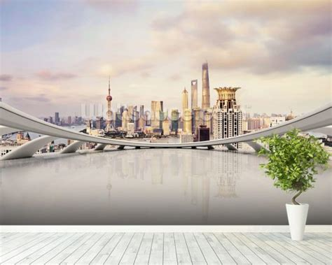 cityscape wall murals cityscape wallpaper wall mural wallsauce usa