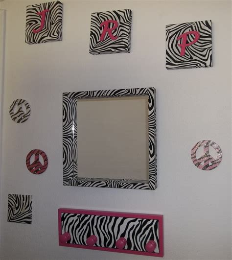 print home decor zebra print wall decor for modern homes