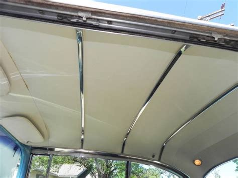 rod and reel head boat real deal steel releases new 55 57 chevy hardtop headliner bow