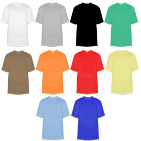 different color shirt in color and emotion perception experiment