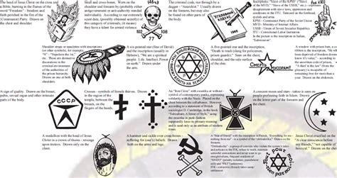 russian mafia tattoos one guide to russian prison tattoos prepared by the