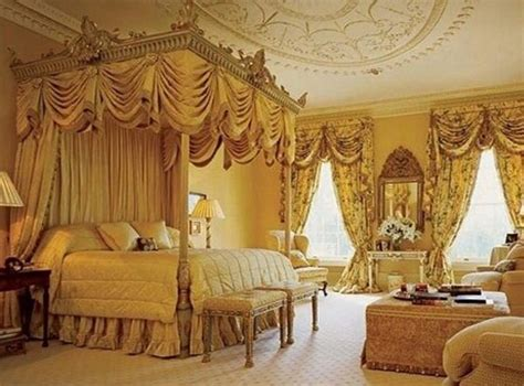 a master bedroom designed in a victorian style