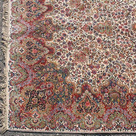 Karastan Floral Kirman Rug by Karastan Rug Floral Kirman Mid 20th C 8