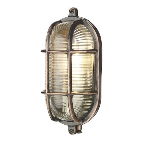 Bulkhead Lights Outdoor Copper Oval Bulkhead Wall Light Ip64 Fitting For Lighting Outside