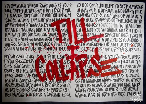 eminem till i collapse lyrics eminem till i collapse quotes quotesgram
