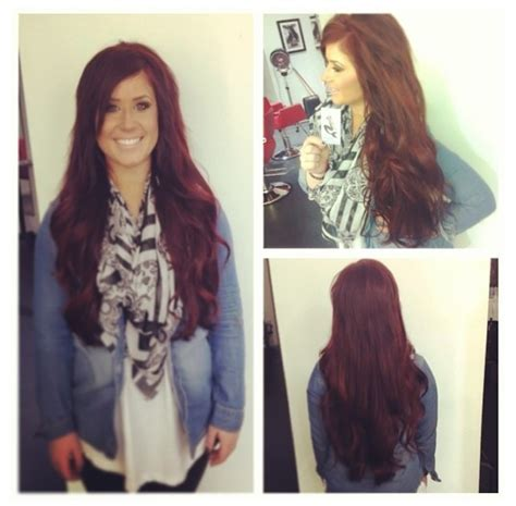 what color is chelsea houska red hair chelsea houska red hair want this color hair nails