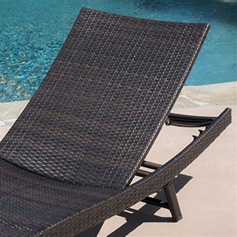 Eliana Set 2 eliana outdoor brown wicker chaise lounge chairs set of 2 beachfront decor