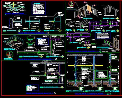 drywall dwg detail  autocad designs cad