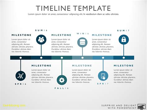 Inspirational Powerpoint Timeline Template Free Best Templates Project Timeline Powerpoint Template
