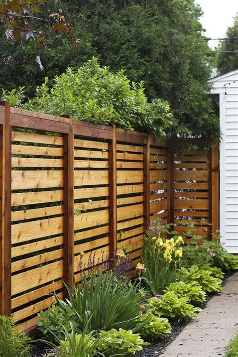 backyard fence design fantastic and fancy fence design ideas bored art