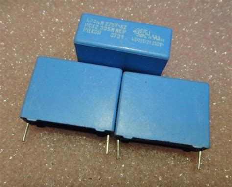 pilkor capacitor bc pilkor mkp335 x2 capacitor 0 47uf 470nf p22 5 incapacitors from electronic components