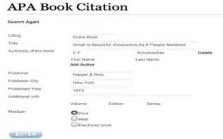 what is an apa citation generator