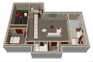 Ranch Home Floor Plans Basement Remodeling Highland Park Il 60035 Delta C