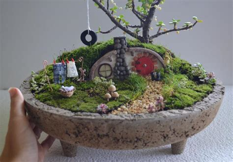 maugenated diy enchanted hobbit terrarium