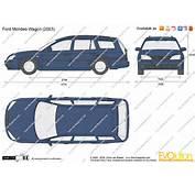 Dimensions Ford Mondeo Wagon 2007  JohnyWheels