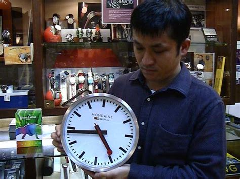 Offical Time by Yuubido Rakuten Global Market Mondaine Mondaine