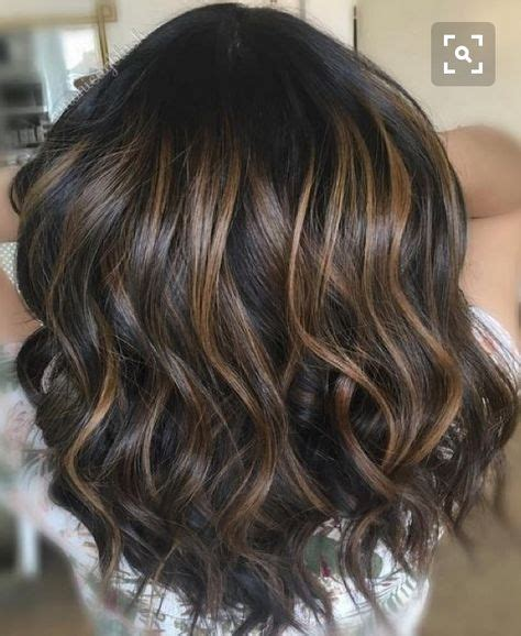 low lights for brunettes dark brunette with low lights cute hair pinterest