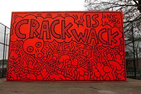 New York Wall Mural street art legends best of keith haring art widewalls