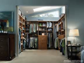 Walk In Closet Design by Closet Solutions By Affordable Closet Systems Inc
