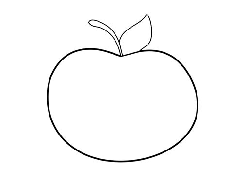apple shape coloring page 66 apple shape coloring page hd wallpapers apple