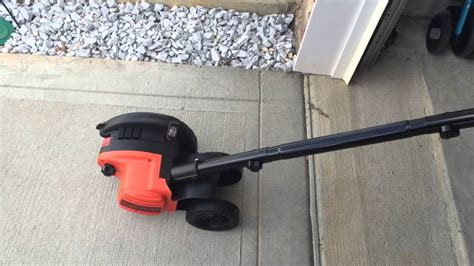 Cutterpede Edge Trimmer 4 by Black And Decker 2 In 1 Edger And Trencher Before