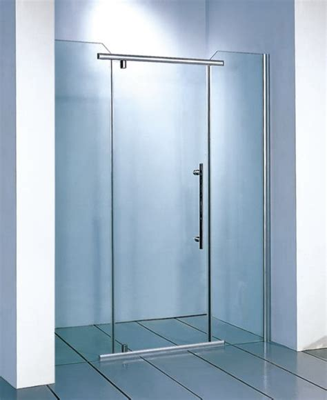 Two Person Whirlpool Bathtub Clear Glass Shower Doors Tempered Glass Shower Doors