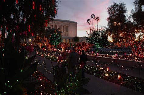 christmas lights  christmas lights   mesa arizona temple grounds