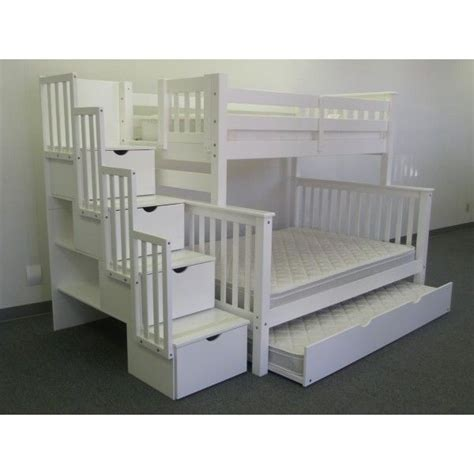 Used Bunk Beds With Stairs 17 Best Images About Bunk Beds With Trundle On Pinterest Bunk Bed With Trundle Bunk Beds