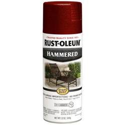 shop rust oleum 12 oz bright red spray paint at lowes com