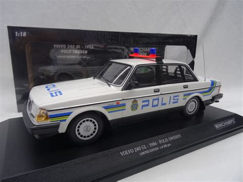 volvo sweden address minichs scale 1 18 volvo 240 gl 1986 limited 300