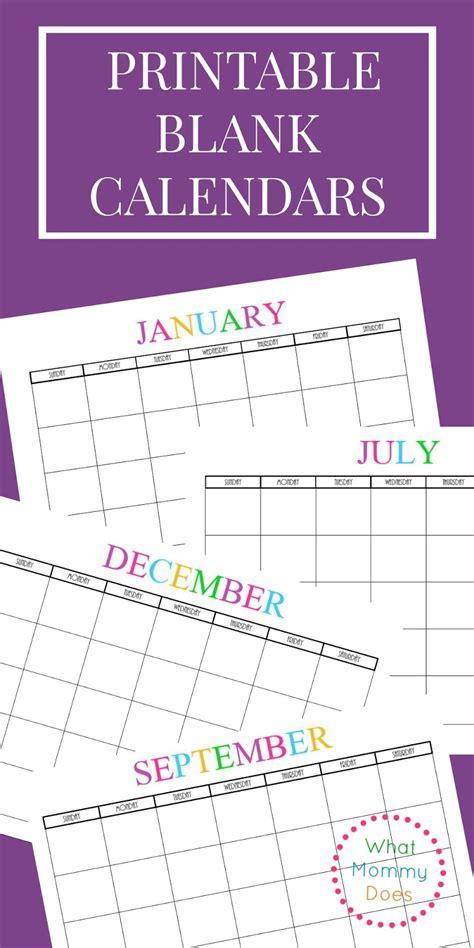 Www Free Printable Calendar