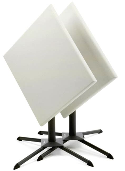 Lifetime Bistro Table New 29 Quot Square Folding Bistro Cafe Table Adjustable Height White Plastic Ebay