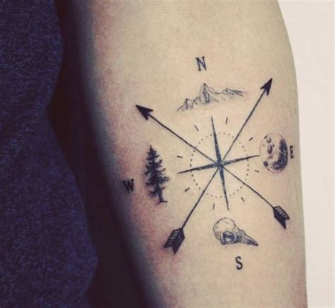 minimalist tattoo compass best 20 mountain tattoos ideas on pinterest mountain